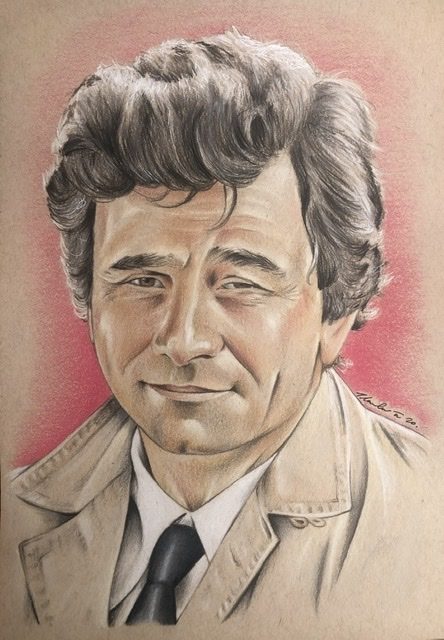 Peter Falk by TraceyLawler
